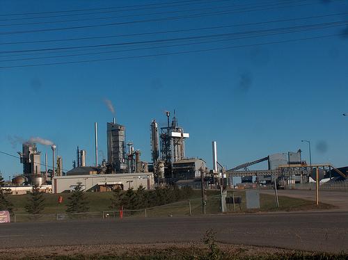 Fertilizer factory using the Haber-Bosch process