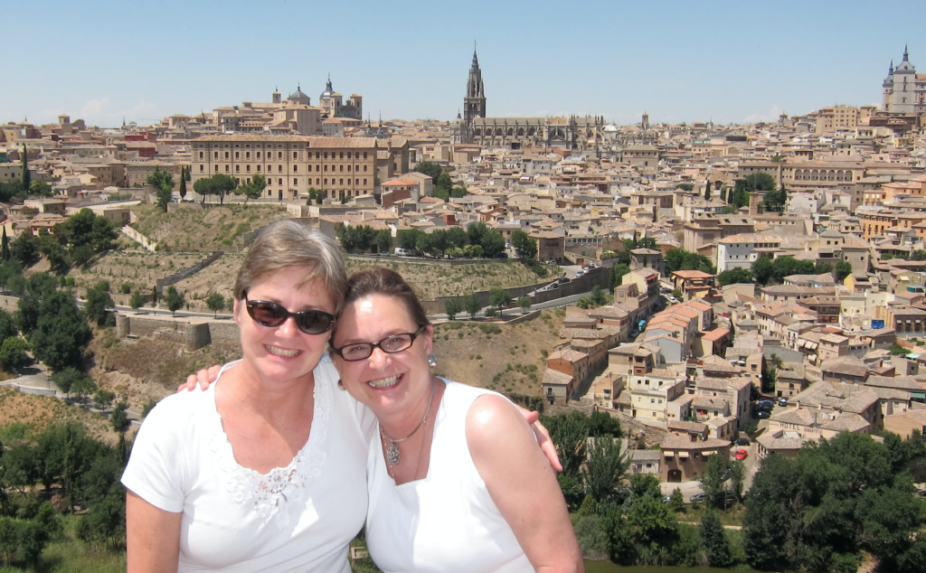 MD and Rose in Toledo, Spain late June 2011